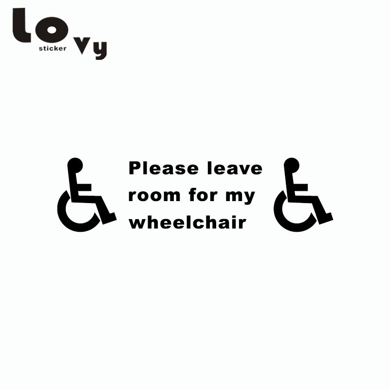 Us 15 Behinderte Zeichen Behinderung Mobilität Taxi Kleinbus Auto Aufkleber Vinyl Auto Aufkleber In Autoaufkleber Aus Kraftfahrzeuge Und Motorräder