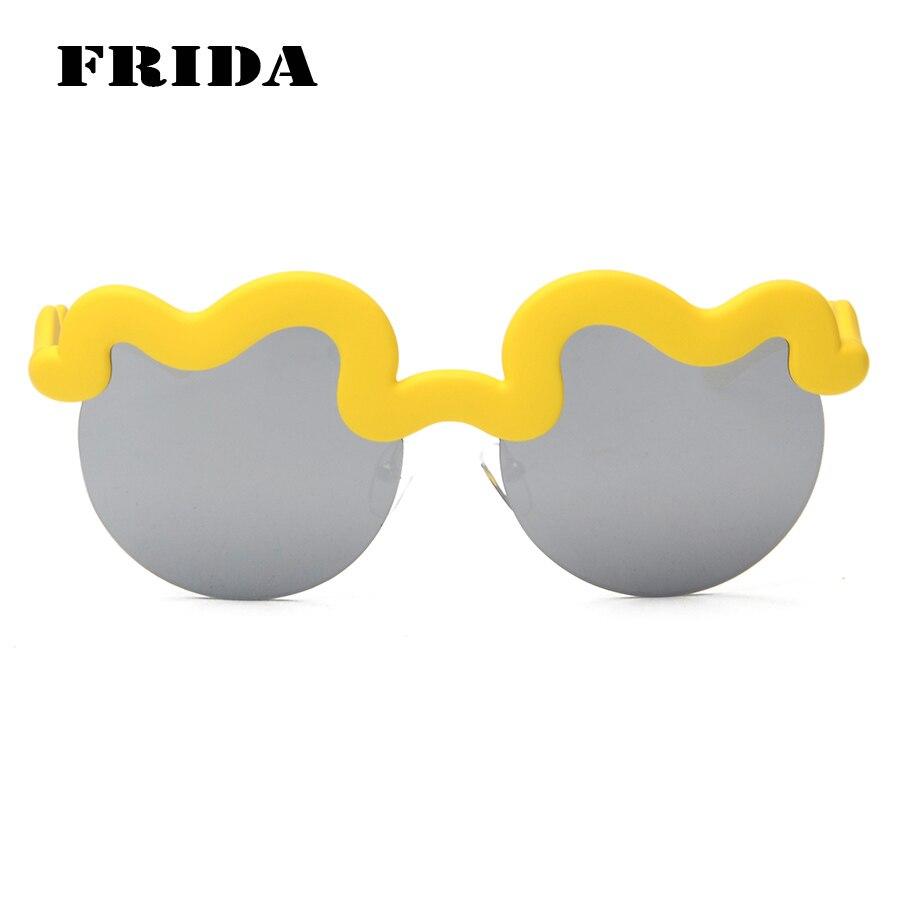 FRIDA KARL Nuvens Quadro de Marca óculos de sol Azul Espelho Óculos De Sol  das mulheres de Boa qualidade personalidade Da Moda óculos de sol UV400 em  Óculos ... 86e6b3c492