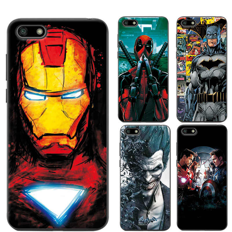 The Avengers Case Cover For Huawei Honor 7S Charming Chic Honor 7 S Captain  America Phone Case For Coque Huawei Honor 7S 5 45