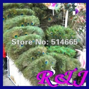 """Wholesale 100 pcs/lot  90-100cm 35-40"""" natural PEACOCK FEATHER long peacock tail feather EMS Free Shipping"""