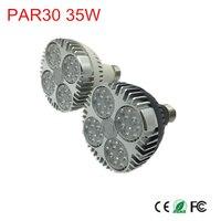 led PAR30 lamp 35w track light Flood Light Bulb PAR30 E26/E27 Cree LED Chips spot lamp for kitchen clothes shop