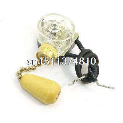 3A 250VAC Latching Action Ceiling Fan Two Wires Light Pull Chain Switch|Switches|Lights & Lighting - AliExpress