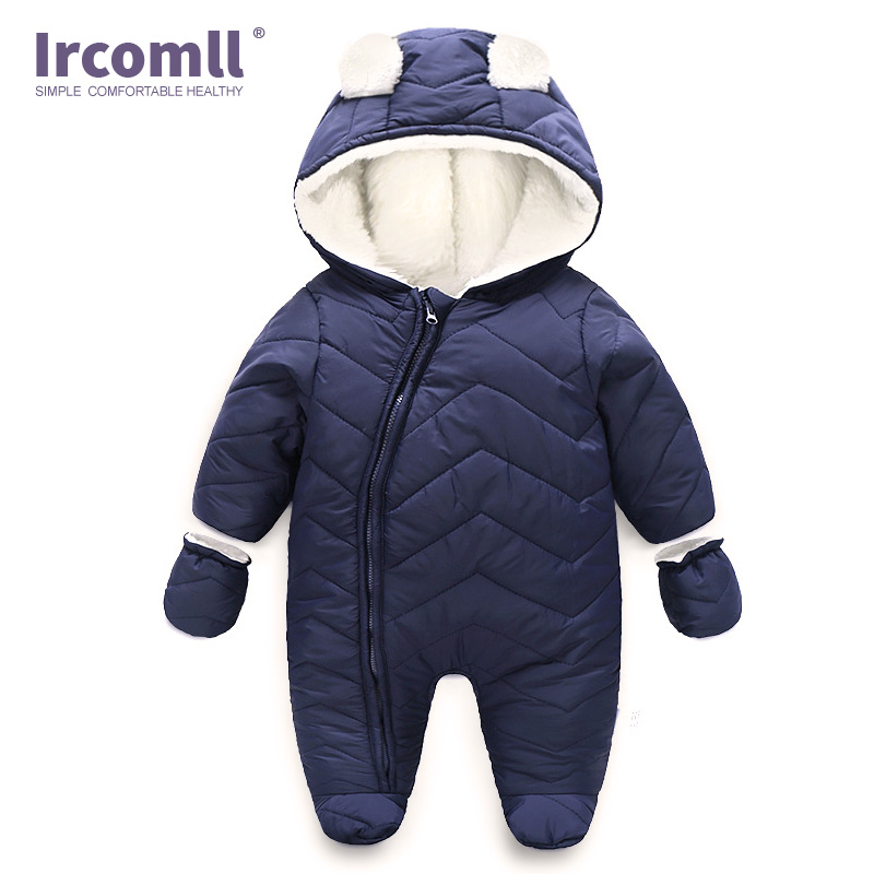 Ircomll Infant Baby Clothes Cartoon Bear Baby Rompers Newborn Baby Warm Soft Unisex Baby Boys Girls Jumpsuit Overalls OutwearIrcomll Infant Baby Clothes Cartoon Bear Baby Rompers Newborn Baby Warm Soft Unisex Baby Boys Girls Jumpsuit Overalls Outwear