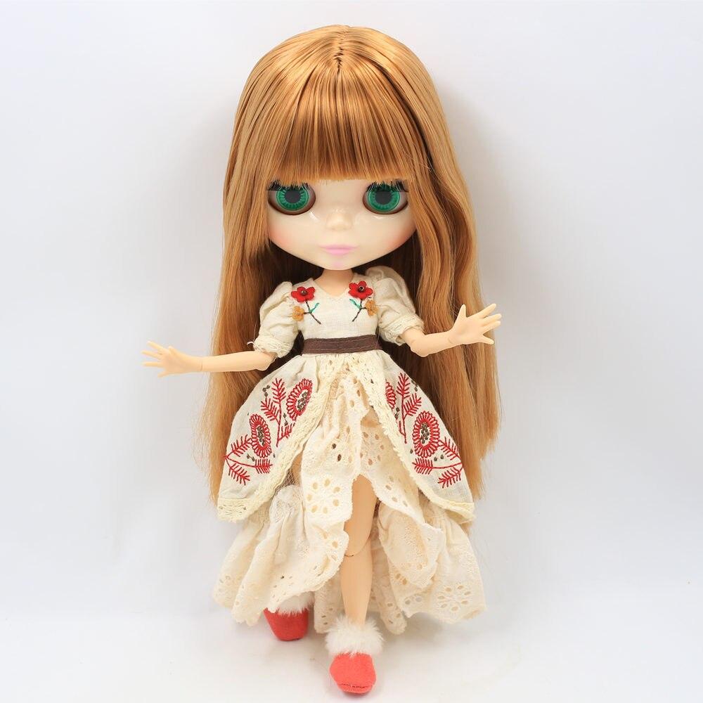 ICY Nude Factory ตุ๊กตาบลายธ์ตุ๊กตา Series 260BL0545 สีน้ำตาลสีขาวผิวขาว 1/6 Joint body Neo-ใน ตุ๊กตา จาก ของเล่นและงานอดิเรก บน   1