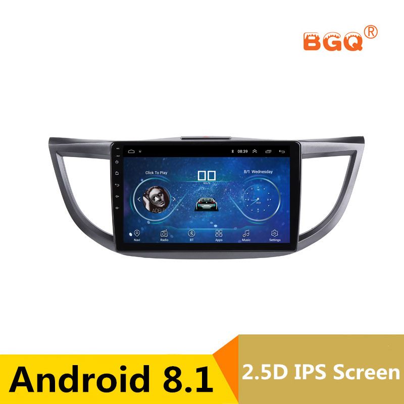 10.1 Android 8.1 Car DVD Multimedia Player GPS For HONDA CRV 2012 2013 2014-2016 audio car radio stereo navigator bluetooth 10 1 android car dvd multimedia player gps for nissan teana 2013 2014 2015 2016 altima car radio stereo navigator bluetooth