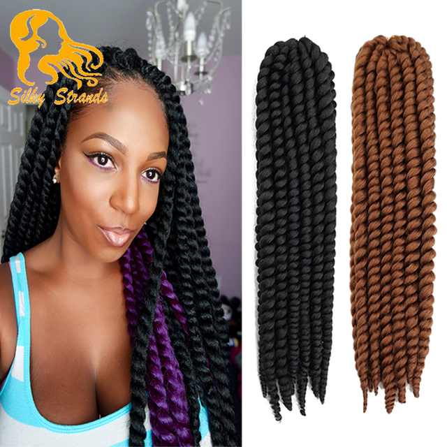 Crochet Braids European Hair : ... Crochet Braids Synthetic Brown Braiding Hair Senegalese Twist Crochet
