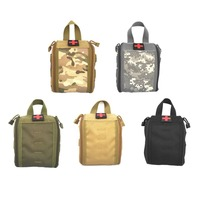Outdoor Camping Medical Bag Tactical First Aid Kit Multifunctional Pack Emergency Survival Empty Bag For