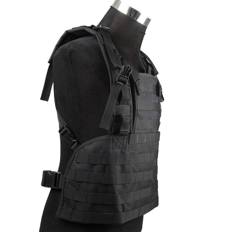 Профессиональный без аксессуаров Тактический нагрудный жилет тактический снаряжение военный жилет