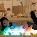 1pcs 45cm Dolphin PLush Luminous Plush Glowing Dolphin Doll Colorful Pillow, Plush Toys, Hot Colorful Doll Kids Children Gifts