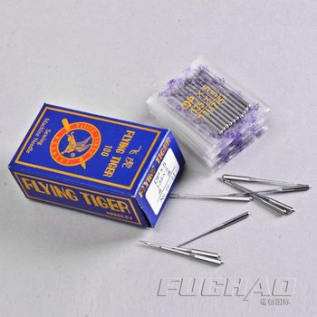 FOR DOUBLE NEEDLE Sewing Machine DP*5 135*5 75/11# Used For Lockstitch Button Holder Sewing Machine NEDDLE image