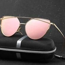 Nuevo Diseñador 2017 gafas de Sol de Las Mujeres de Conducción Espejo Polarizado UV400 Gafas de Ojo de Gato Para Mujer Gafas de Sol Gafas Feminina