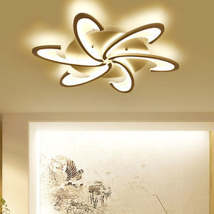 Image 5 - Led Chandelier for living room dining room study room bedroom lamp creative light modern simple decoration