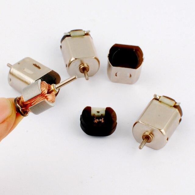 新 5 ピース高速ブラシ 130 小型モータ適切な玩具模型四輪駆動モーター 3 ボルト DC