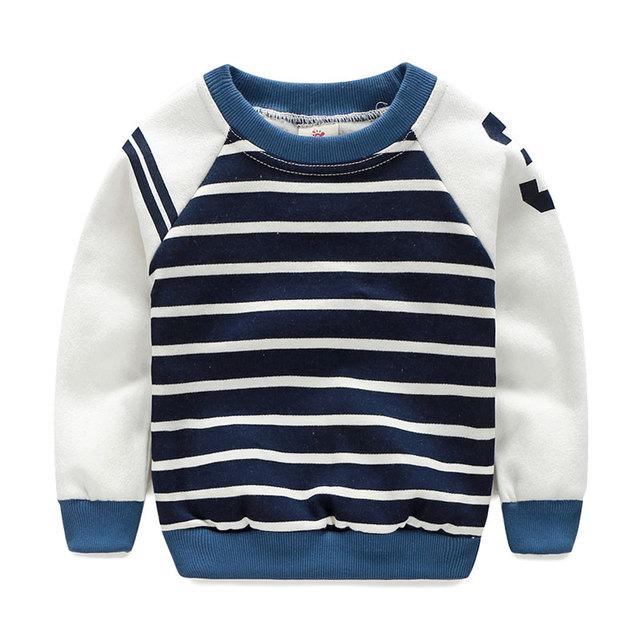 Littlespring outono meninos camisola hoodies crianças despojado de manga comprida outerwear menino com capuz casuais top crianças roupas menino 2-9Y