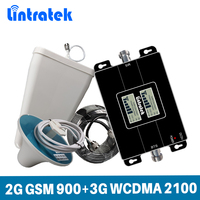 Lintratek Signal Booster 2G GSM 900 3G 2100Mhz WCDMA Celular Signal Repeater Amplifier CellPhone for MTS, MegaFon, Beeline,Tele2