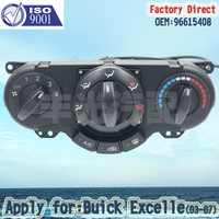Factory Direct Car AC Heater Panel Switch Auto Part Air Condition Control Panel 96615408 Apply For