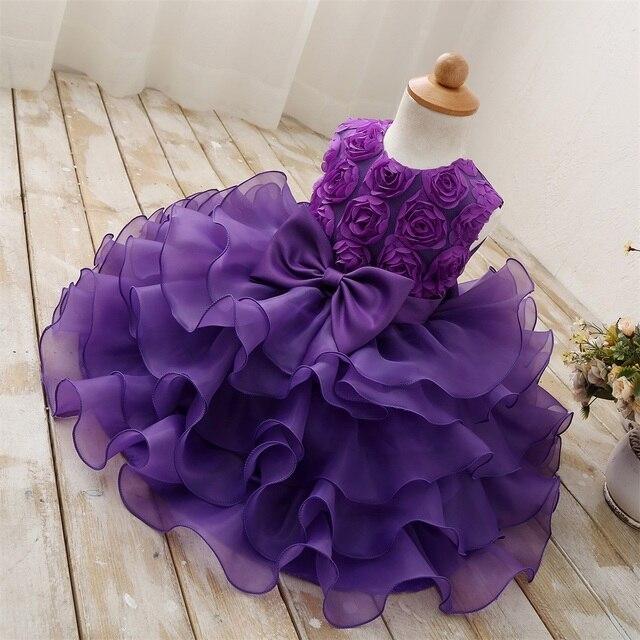 Фиолетовое платье с цветочным рисунком для девочек детская одежда праздничное платье для девочек одежда для балов детское выпускное платье платье для торжественных событий размер 8
