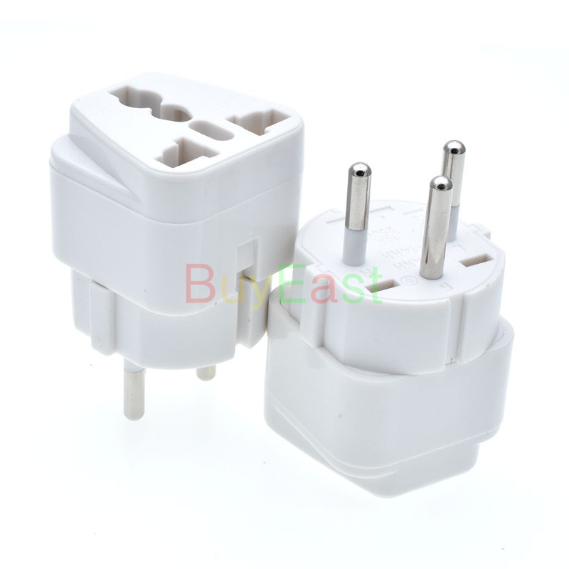 Free shipping ISRAEL Travel Plug Adapter Universal Outlet change AU/UK/US/EU....to Israeli 3 Pin Grounded Plug Adaptor 10A 250VFree shipping ISRAEL Travel Plug Adapter Universal Outlet change AU/UK/US/EU....to Israeli 3 Pin Grounded Plug Adaptor 10A 250V