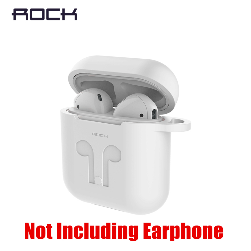 ROCK Headphone Earphone Strap For Apple Airpods Anti Lost Strap Magnetic Loop String Rope For Airpods Carrying Case Silicone