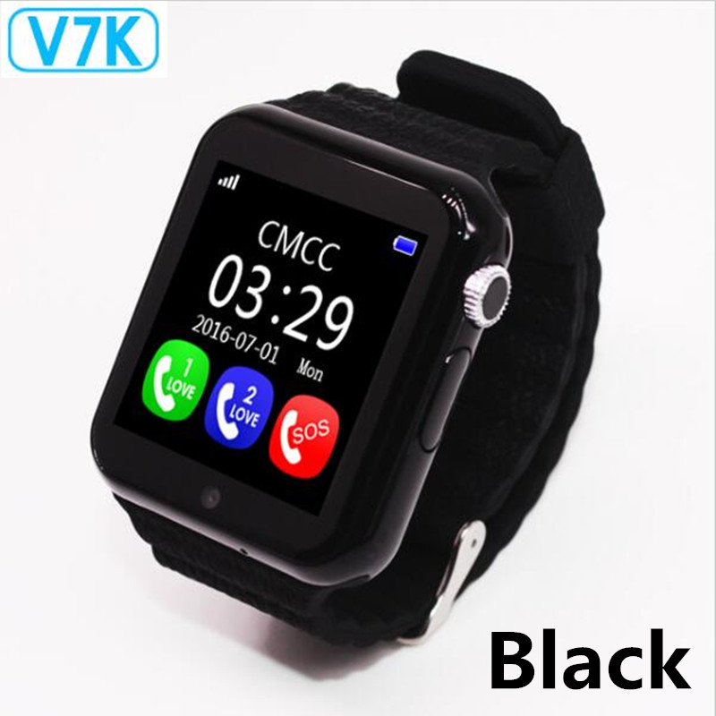 Original V7K GPS Bluetooth Smart Watch for Kids Boy Girl Apple Android Phone Support SIM /TF Dial Call and Push MessageOriginal V7K GPS Bluetooth Smart Watch for Kids Boy Girl Apple Android Phone Support SIM /TF Dial Call and Push Message
