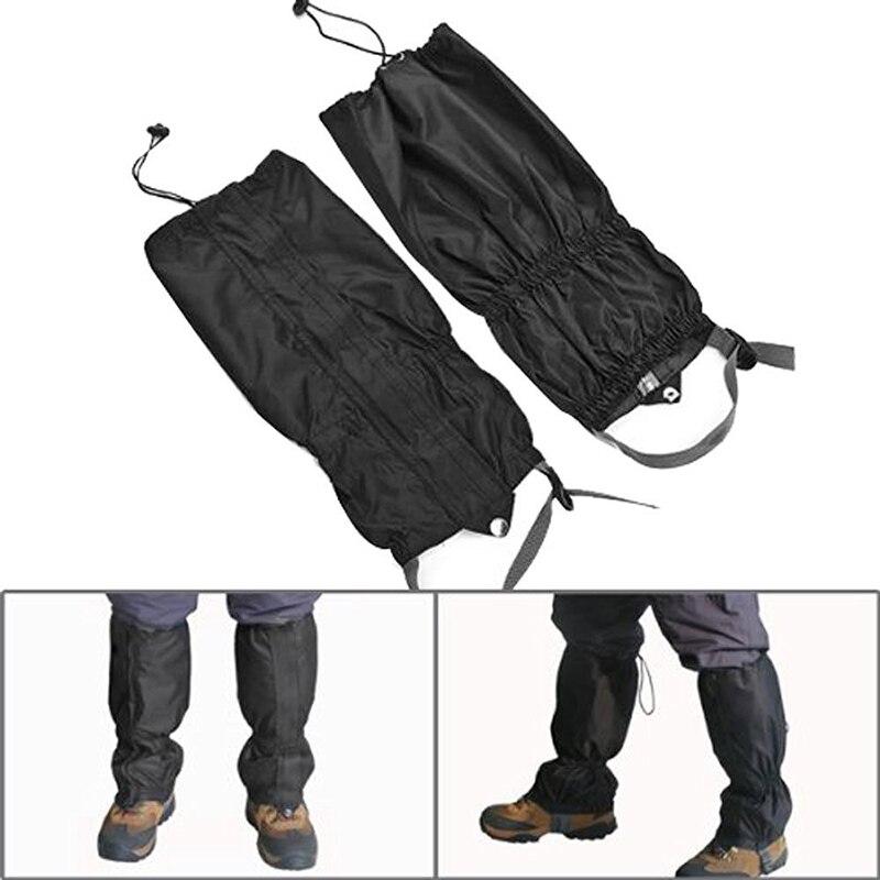 1 pair Waterproof Outdoor Camping Hiking Climbing Hunting Snow Protect Legging Gaiters Travel Kits1 pair Waterproof Outdoor Camping Hiking Climbing Hunting Snow Protect Legging Gaiters Travel Kits