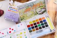 Sakura Solid Water Color 18\24\30 colors well packaged watercolor set,good partner of watercolor pen