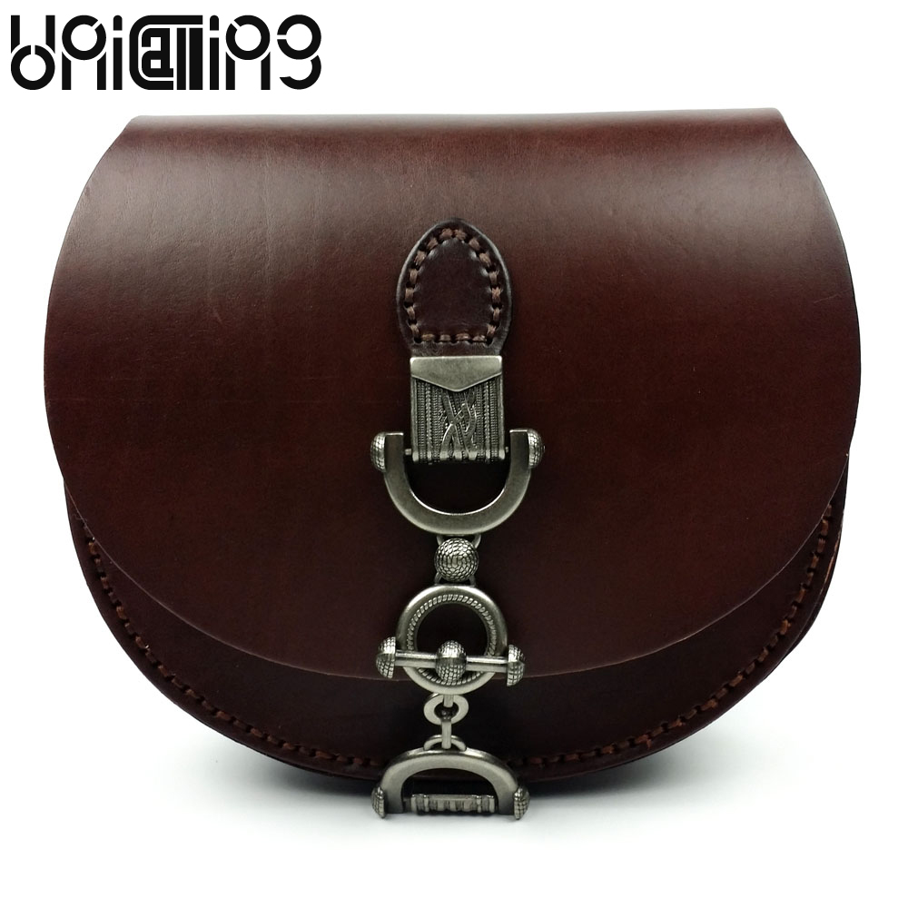 New style Retro Vegetable tanned leather shoulder bags Fashion tidal current women messenger bags lock catch Cow Leather bag fashion matte retro women bags cow split leather bags women shoulder bag chain messenger bags