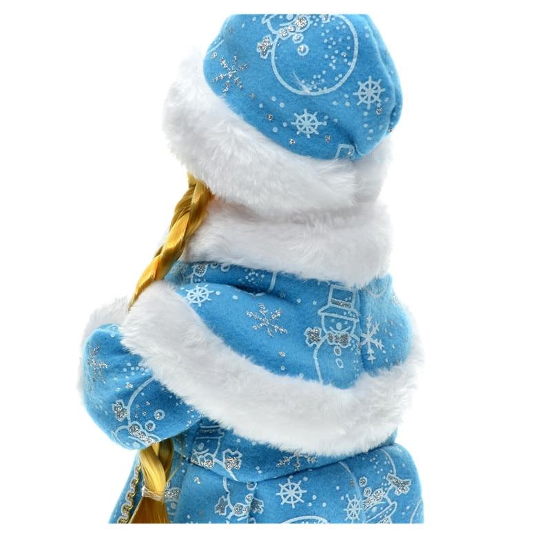 30cm novoletni okraski božični električni dedek Mraz glasbeni - Dekor za dom - Fotografija 5