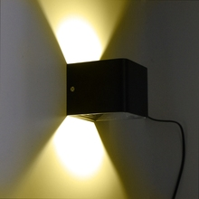 Настенный светильник светодиодный 3 Вт регулируемый интерьер спальни изголовье коридора настенный светильник
