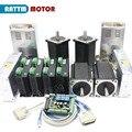 Nema34 moteur stepper 1600 oz-in | 154mm 5A + CW8060 80VDC  panneau de 145A 6 axes