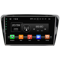 Octa Core 4GB RAM 32 GB ROM Android 8.0 Stereo Autoradio Bluetooth Car Radio 12V MP3 Player for Skoda Octavia 2014 2015