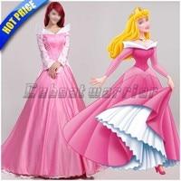 Sleeping Beauty Princess Aurora Cosplay Costume Aurora Fancy Dress Custom Made