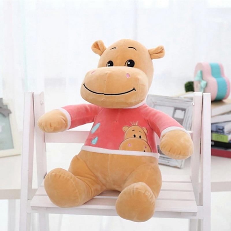Hippo Pillow Mattress Plush Soft Toys Minions Kids Ty Eyed Stuffed Animals Doll Licorne Birthday Gifts In