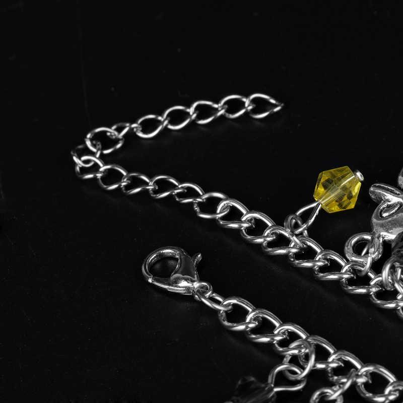 """Мультфильм чехол с принтом """"браслет милый чехол с принтом"""" Дружба тематика «Лило и Стич» браслет с подвесками в виде различных предметов & браслет Kawaii Семья браслет Для женщин, ювелирные изделия для девушек"""