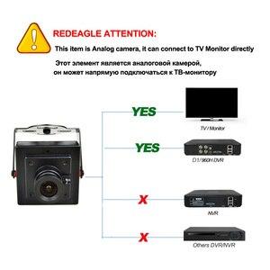 Image 5 - REDEAGLE 700TVL CMOS kablolu Mini kutu CVBS CCTV güvenlik kamera Metal gövde ile 3.6MM 2.8MM 6MM Lens isteğe bağlı