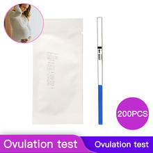 200Pcs/pack Home Private Early LH Ovulation Urinary Mid-stream Test Strips Female Rapid Detection Adult Products