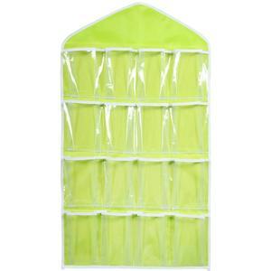 Top Selling 10/16 Pockets Multifunction Underwear Sorting Storage Bag Door Wall Hanging Closet Organizer Bag Organisateur