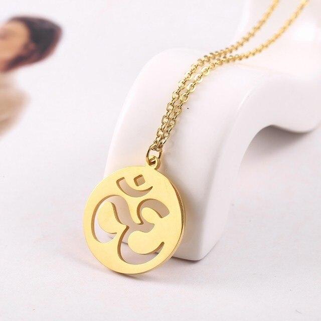 RIR Dainty Gold OM Necklace...