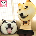 Dog unhide pillow cushion plush toy birthday gift girls funny present