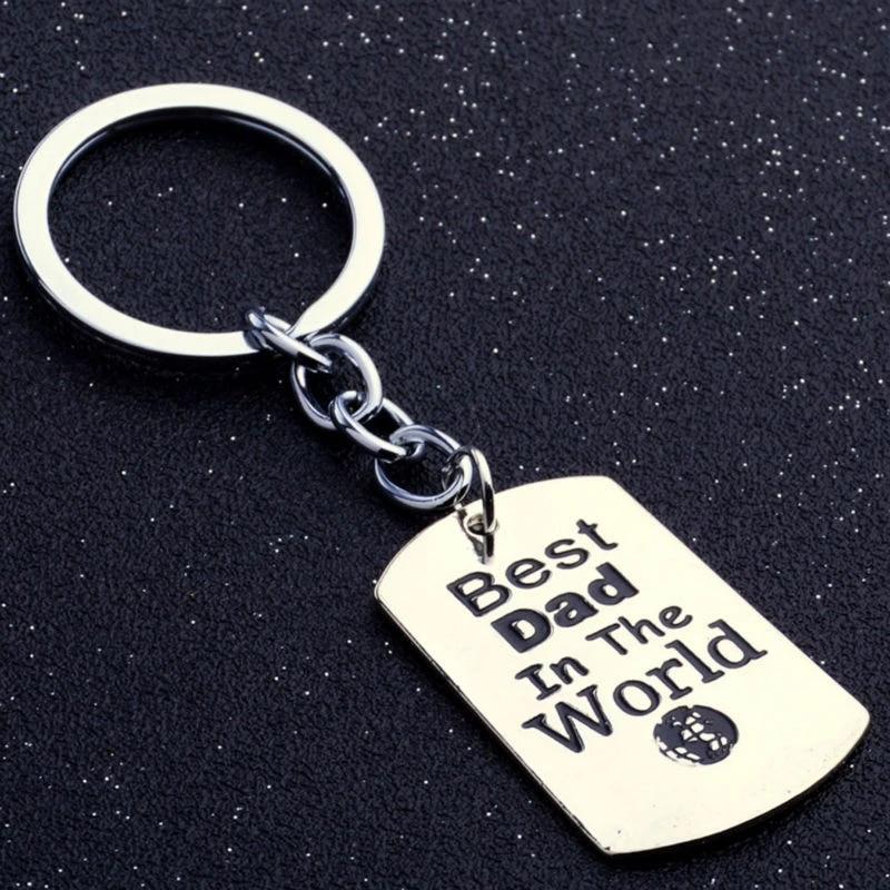 Keychain Best Dad in the World