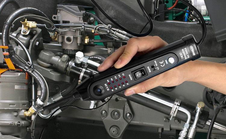 Automobilių grandinių testerių elektros sistemos voltmetras - Matavimo prietaisai - Nuotrauka 5