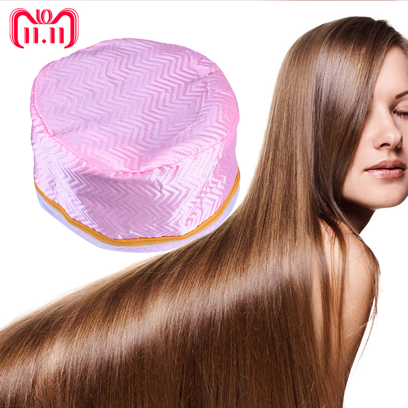 Hot Sale Electric Hair Thermal Treatment Cap Beauty Steamer Heating SPA Nourishing Hair Care Electric Cap Styling Tools US Plug hair care professional electric salon thermal beauty steamer spa nourising hair barbers cap heated hairdressing style cap tools
