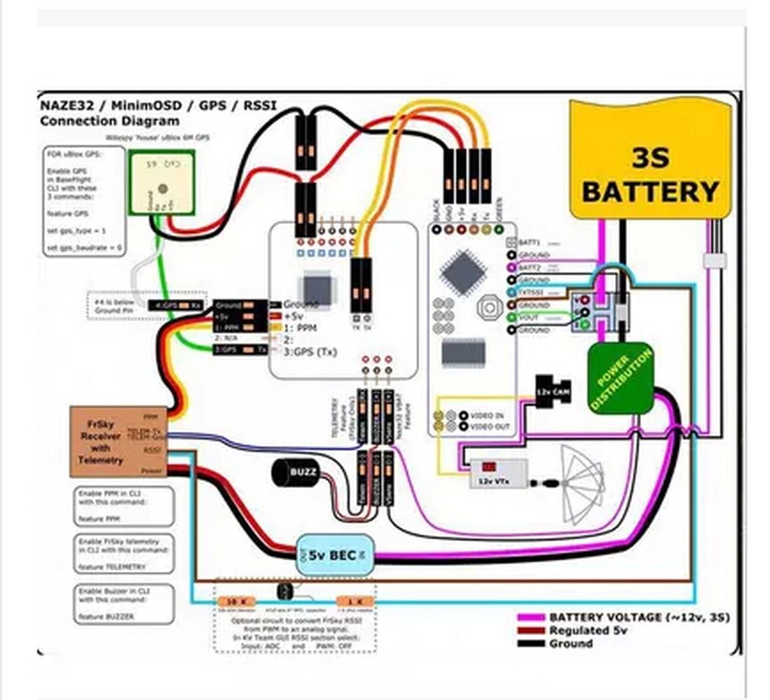 Naze32 6dof Rev6 Wiring Diagram Smart Diagrams F Cloud 10dof Naze 32 Flight Control Board Rh Aliexpress Com For Dsm2