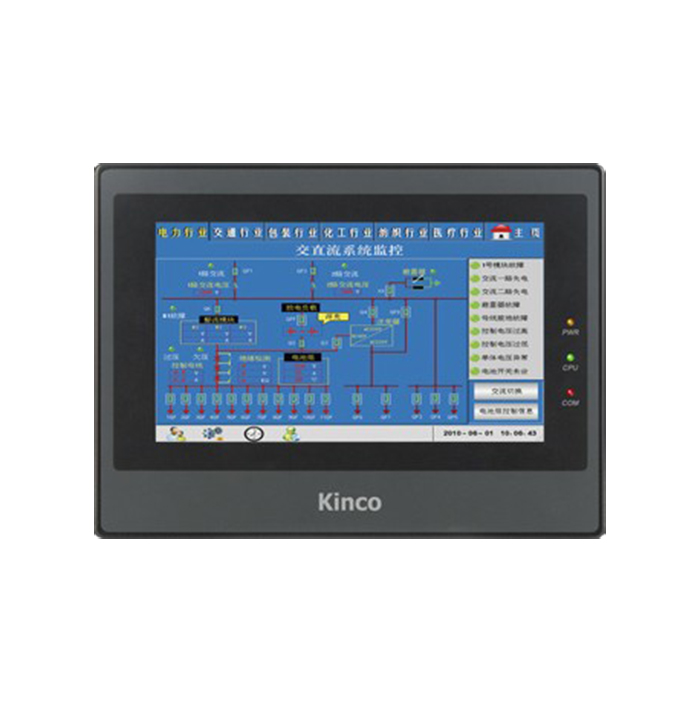 MT4522T : 10.1 inch 800x480 HMI Touch Screen MT4522T Kinco New with USB program download Cable, FAST SHIPPING