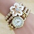 2017 de la Perla de la Moda Famosa Marca de Pulsera de Cuarzo Reloj de Las Mujeres Señoras de La Muchacha Reloj de Pulsera Relogio Feminino Reloj Mujer Montre Femme