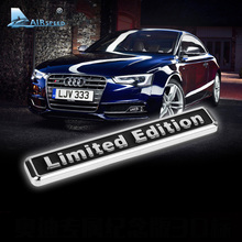Airspeed Limited Edition Car Metal Stickers Badge Decal Auto Motorcycle Car styling for Mazda Kia Chevrolet Ford Bmw Audi Volvo