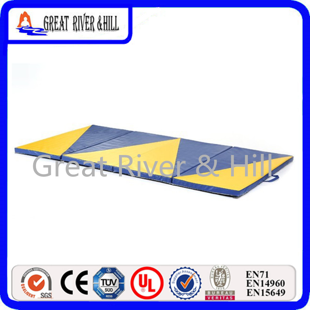 Great River Hill Outdoor Folding Gymnastics Mat with size 2.4mx1.2mx3cm сумка river island river island ri004bwzyz56