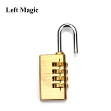Induction Coded Dream mental Lock by Alan Wong close up magic tricks Mentalism illusion amazing magie toy