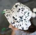 Coconut Printed Bucket Hats For Hawaii Women Girls Men New Fashion Lovely Summer Casual Cotton Fishing Hats