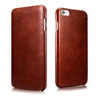 Luxury Genuine Leather Case For Apple iPhone 6 6s / Plus Fashion Slim Full Covered Flip Cover Original Phone Cases Accessories